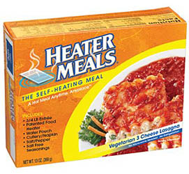 self-heating HeaterMeals� - Lasagna